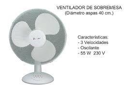 VENTILADR SOBREMESA F-AIR REF2499401