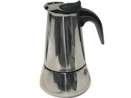 CAFETERA INOXIDABLE 4 TAZAS ENEIDE