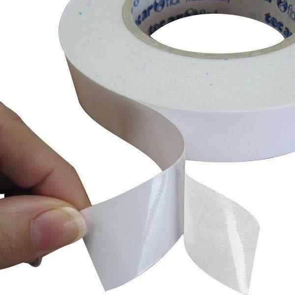 cinta moqueta doble cara 45mmx10mtrs
