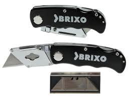 cutter navaja 5 cuchillas brixo 800069