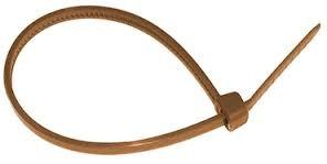 brida nylon marron 370x7.8 100 udes