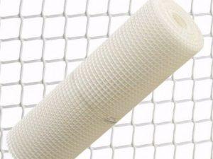 malla plastico blanca 1cm 1mtrs/el metro