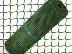 malla plastico verde 2cm 1mtrs/el metro