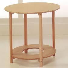 mesa redonda 60cm madera