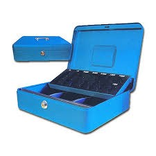 caja de caudales con monedero nº1 toplock