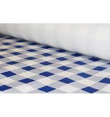 papel adhesivo cuadros azul 0.45cm metreado