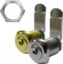 cerradura buzon alfa leva recta c/rosca dorada