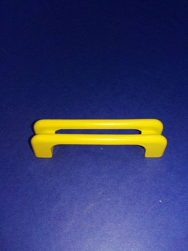 tirador 8cm amarillo ref 0220