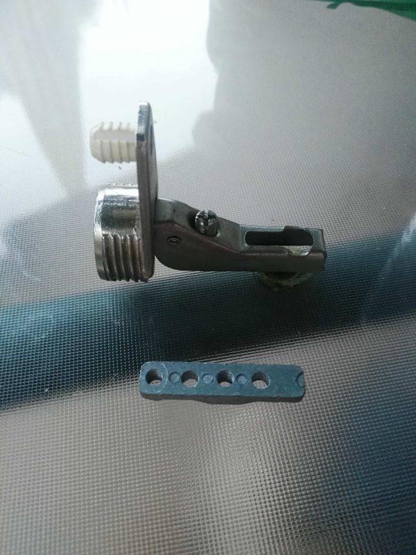 bisagra cazoleta 25mm curva con pasador