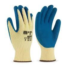 guante palma latex azul t-8