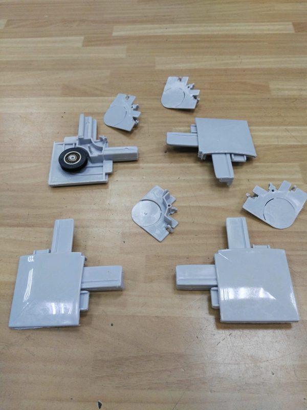 rueda perfil moquitera juego 4udes gris