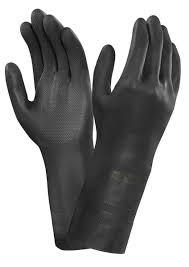 guante neopreno negro talla-8-m