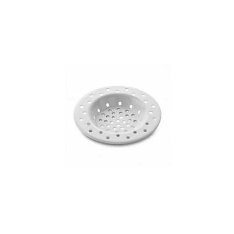 rejilla filtro blanca fregadero 6cm