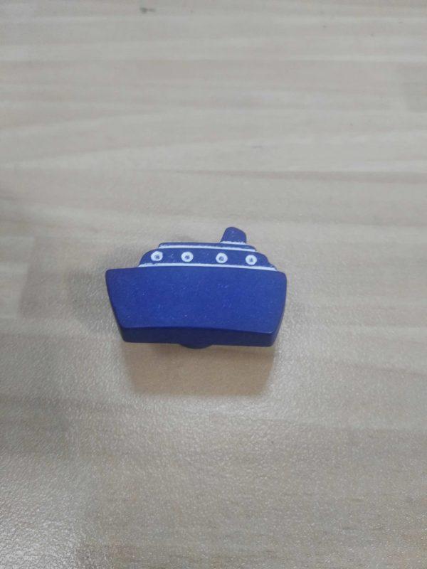 tirador mueble 3.5cm azul ref 0249