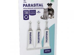 antiparasitos parasital pipeta pequeña 3udes zotal
