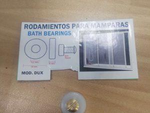 rodamiento mampara mod dux c/tornillo