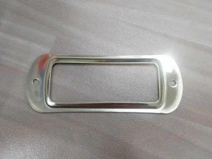 placa buzon dorada 5951 8.7x3.5cm