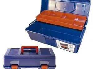 caja herramientas plastico tayg nº22-35x18x16cm bandeja