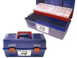 caja herramientas plastico tayg nº23-35x18x16cm bande+estuche