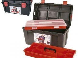 caja herramientas plastico tayg nº31-44x23x23cm bande+estuche