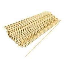 brocheta bambu 30cm 100udes