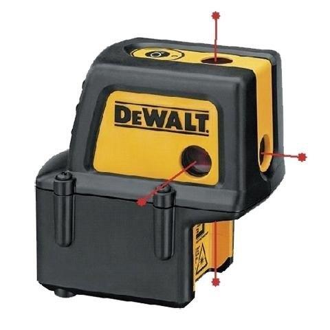 nivel laser 4 puntos dw084 c/maletin dewalt
