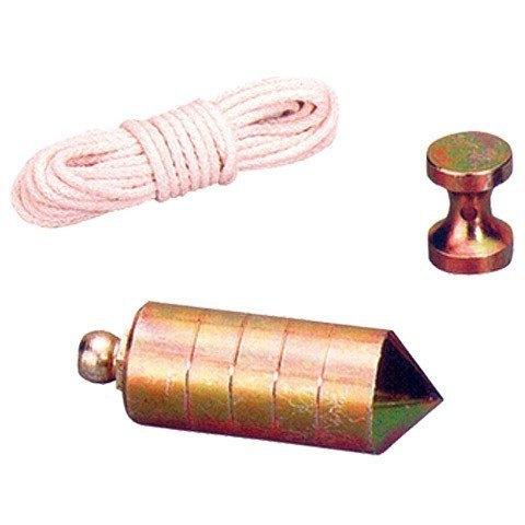 plomada nuez hierro c/cuerda 500gr