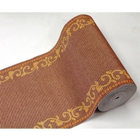 alfombra blanda 0.65cm decorado rojo metreada