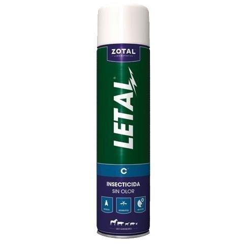 insecticida anti moscas-mosquitos letal c/pulverizador 1000ml zotal