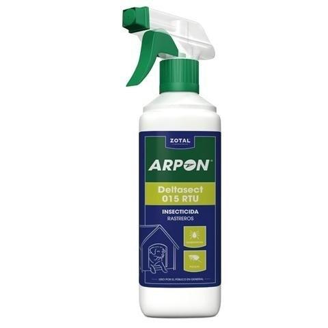 insecticida rastreros arpon c/pulverizador 750ml zotal